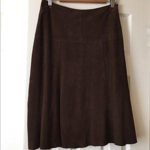 JCrew Suede Skirt